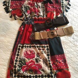 Anthropologie midi-dress